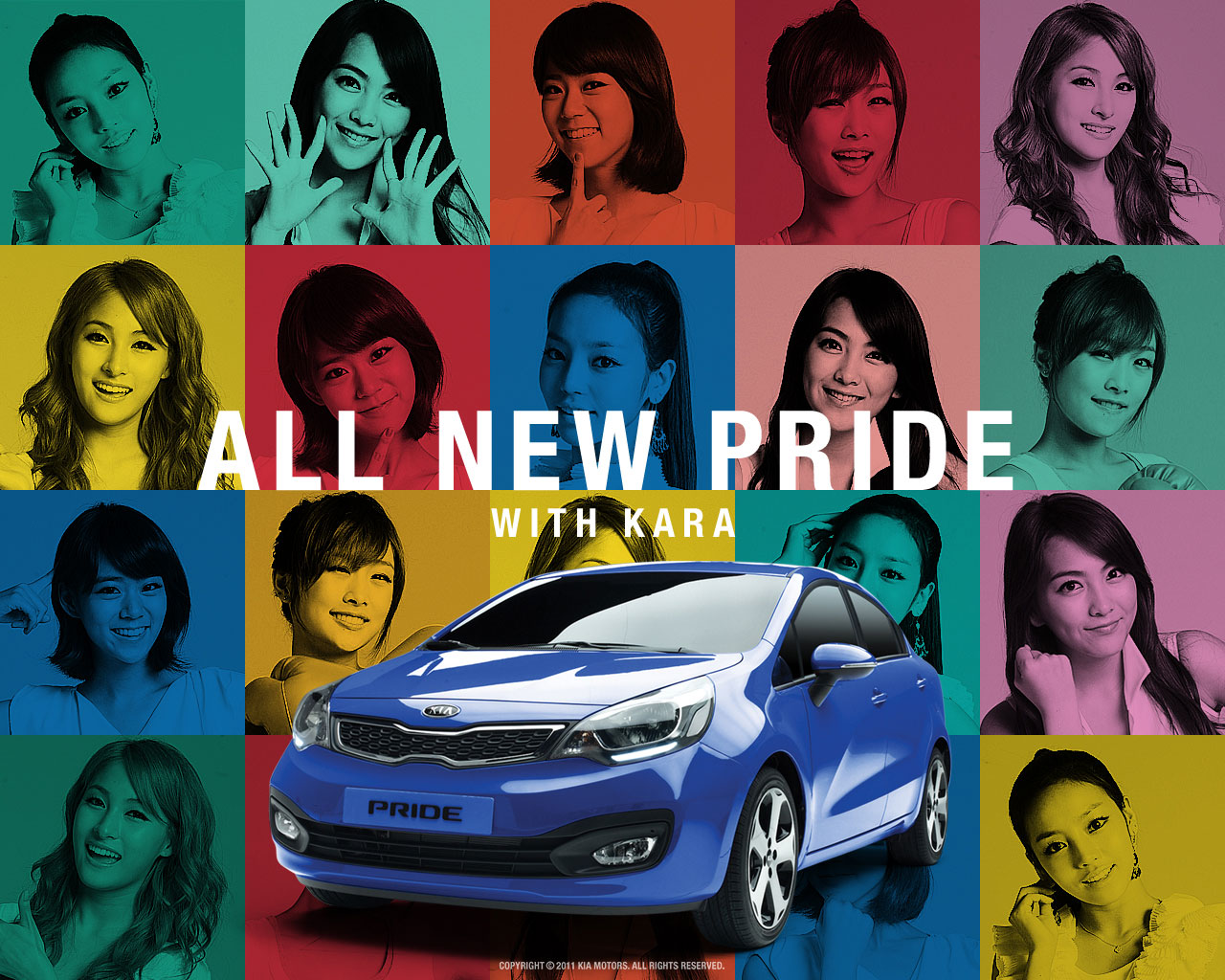 KARA Kia Pride Korean wallpaper