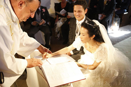 Karen Mok Italian wedding