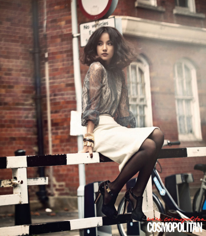 Lee Hyori Cosmopolitan Britain