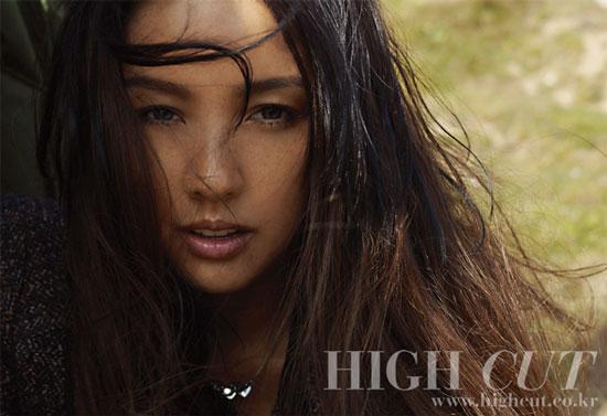 Lee Hyori High Cut Magazine