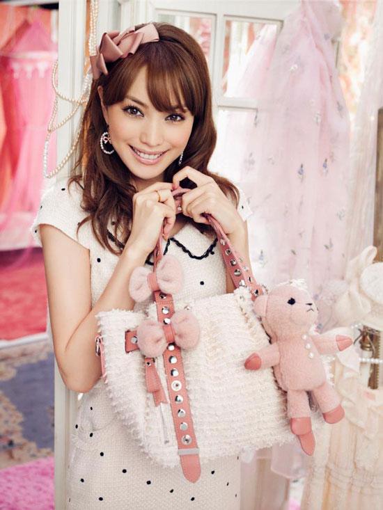 Japanese model Yuri Ebihara Samantha Thavasa