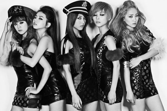 Wonder Girls Be My Baby album concept photo