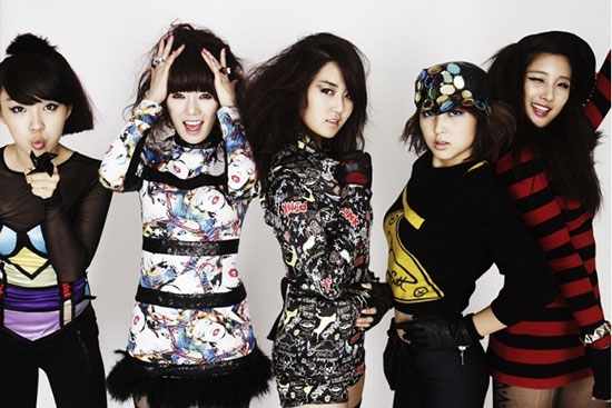 Korean pop group 4Minute picture