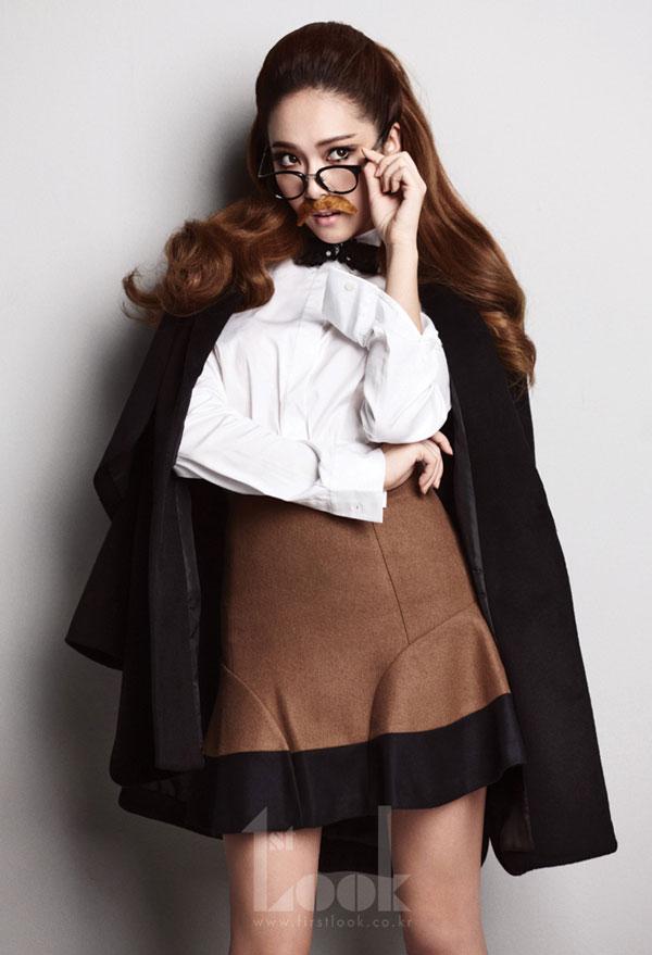 SNSD Jessica 1st Look Magazine