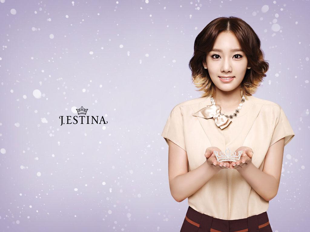 SNSD Taeyeon Jestina wallpaper