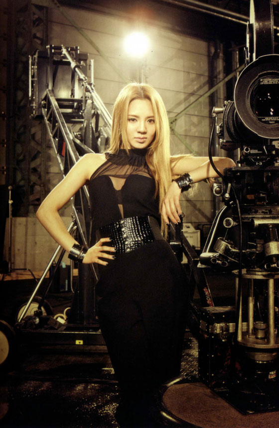 Girls Generation SNSD member Hyoyeon picture