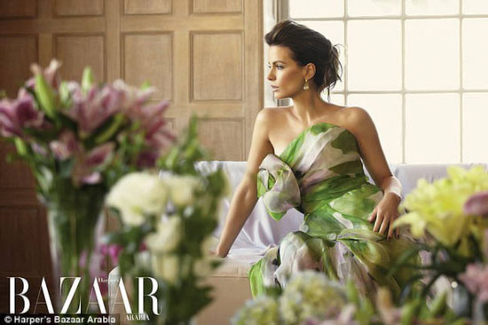 Kate Beckinsale Harpers Bazaar Arabia