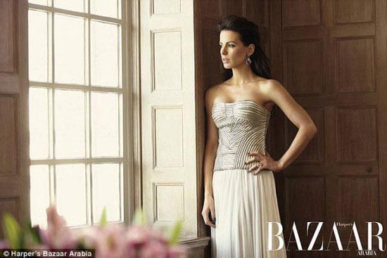 Kate Beckinsale Harpers Bazaar Arabia