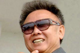 Late North Korean leader Kim Jong-il
