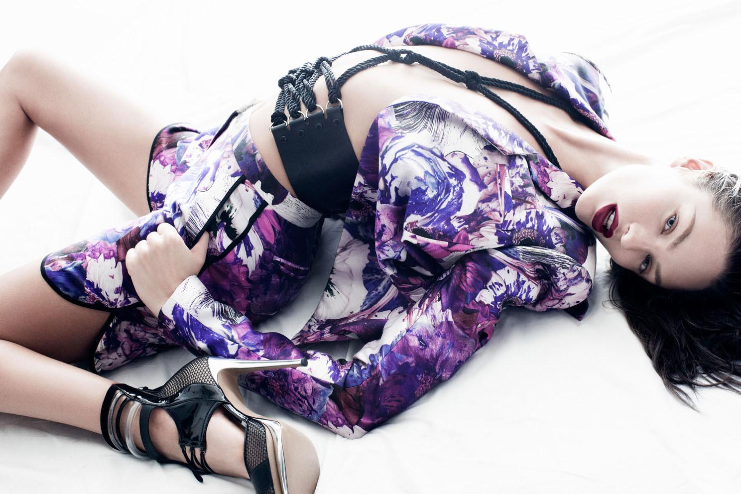 Candice Swanepoel Prabal Gurung fashion