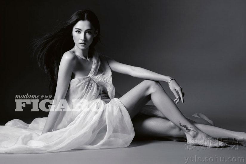 Cecilia Cheung Figaro Magazine