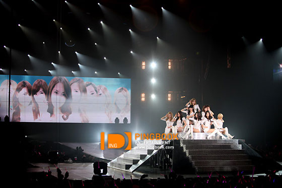 Girls Generation Tour in Bangkok 2012