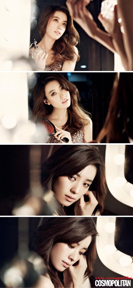 Han Hyo-joo Cosmopolitan Korean magazine