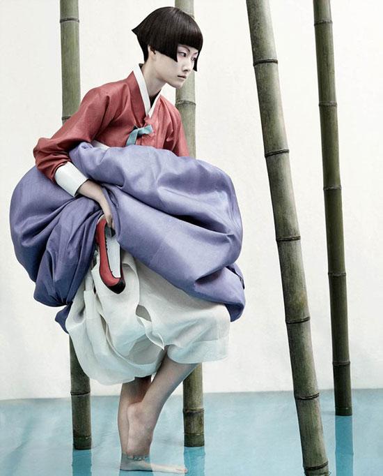 Kim Kyung-soo Korean hanbok