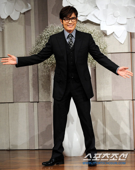 Lee Byung-hun at Ko Soo wedding