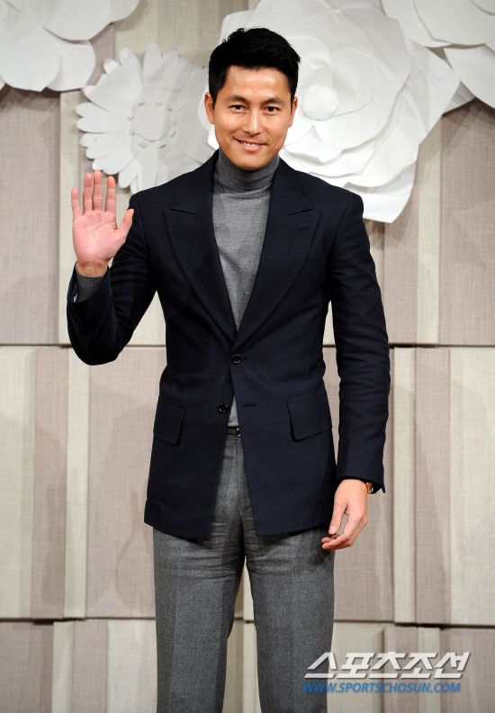 Jung Woo-sung at Ko Soo wedding