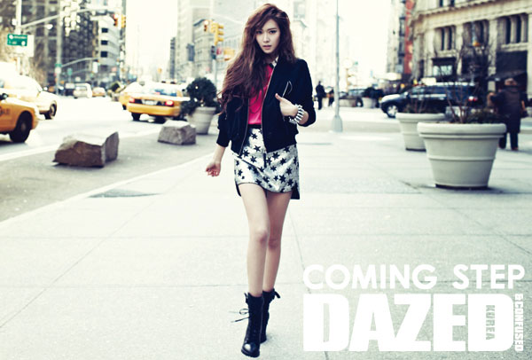 SNSD Jessica Dazed and Confused in New York