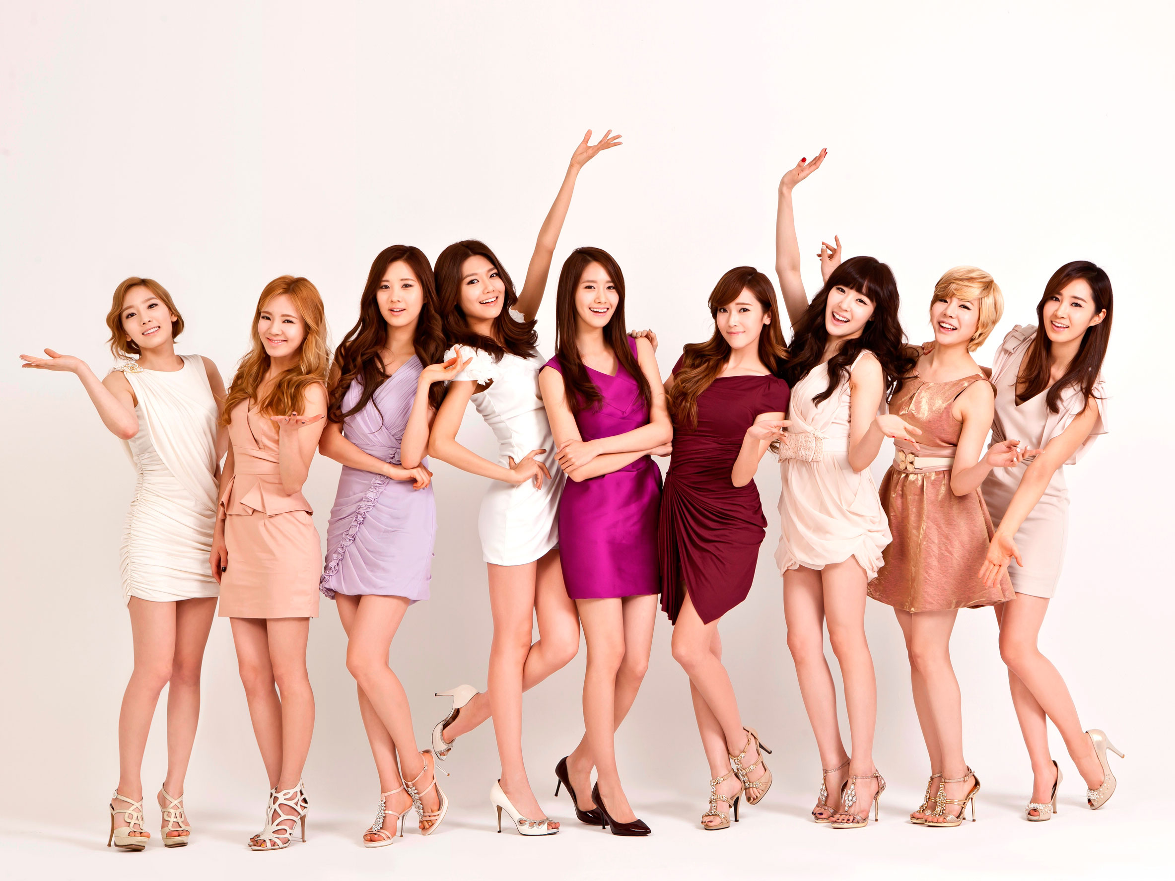 Girls Generation LG 3D TV wallpaper