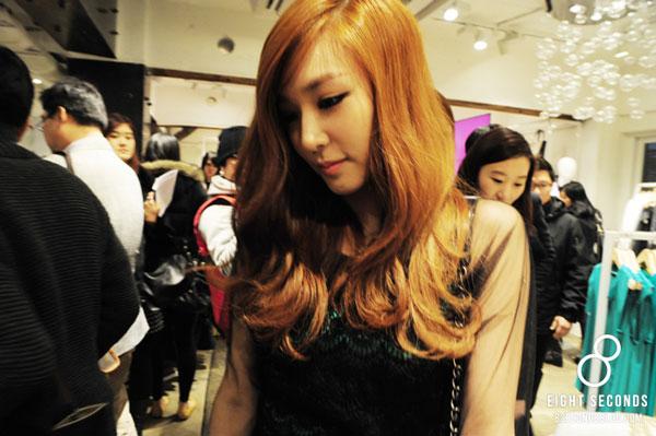 Tiffany Hwang 8seconds Garosu-gil store launching