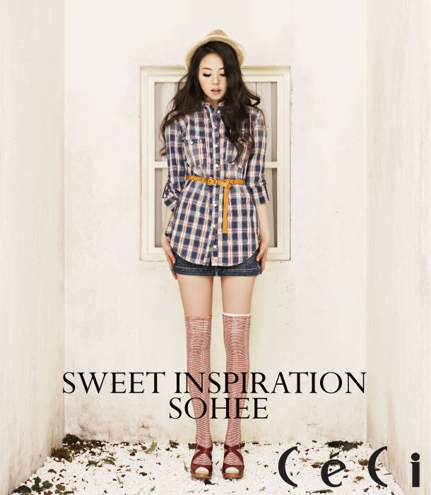 Ahn Sohee Korean Ceci Magazine