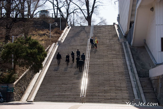 Seoul Kim Sam Soon staircase