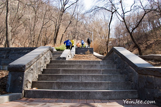 Hiking Seoul Mount Namsan