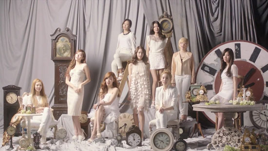 Girls Generation SNSD Time Machine