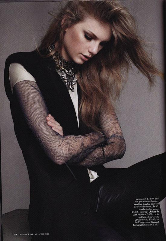 Taylor Swift Gucci Harpers Bazaar Australia