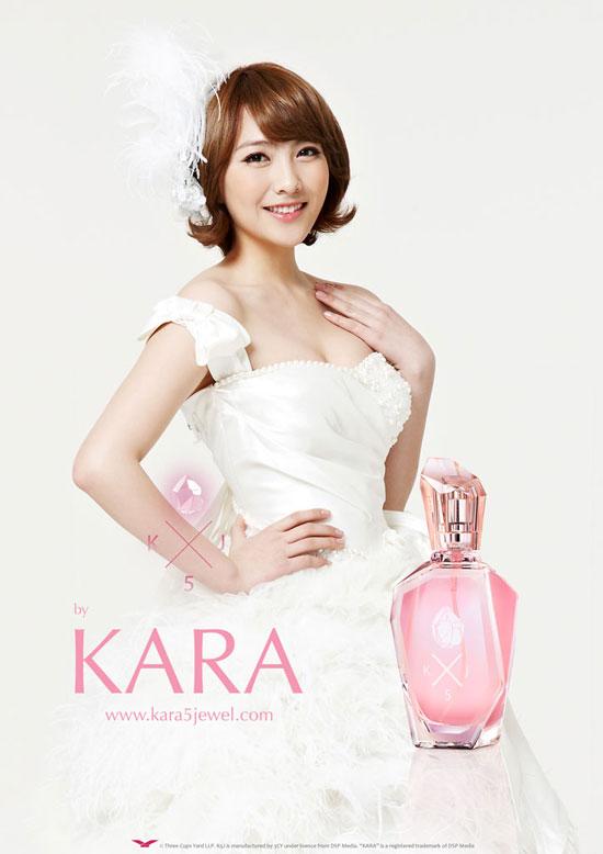 KARA Jiyoung K5J fragrance