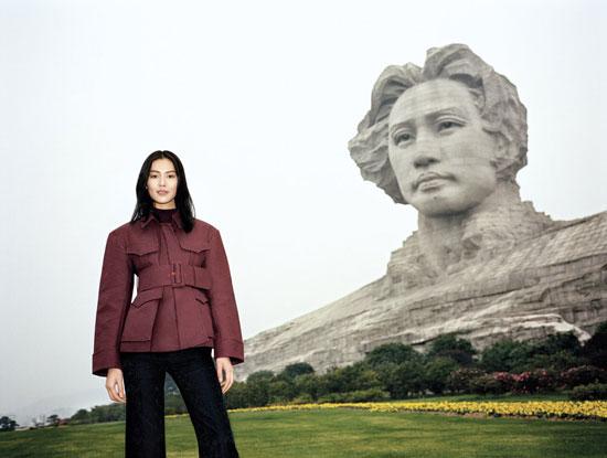 Chinese supermodel Liu Wen T Magazine
