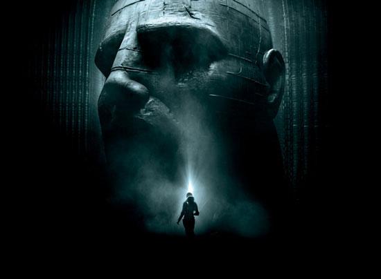Ridley Scott Prometheus movie
