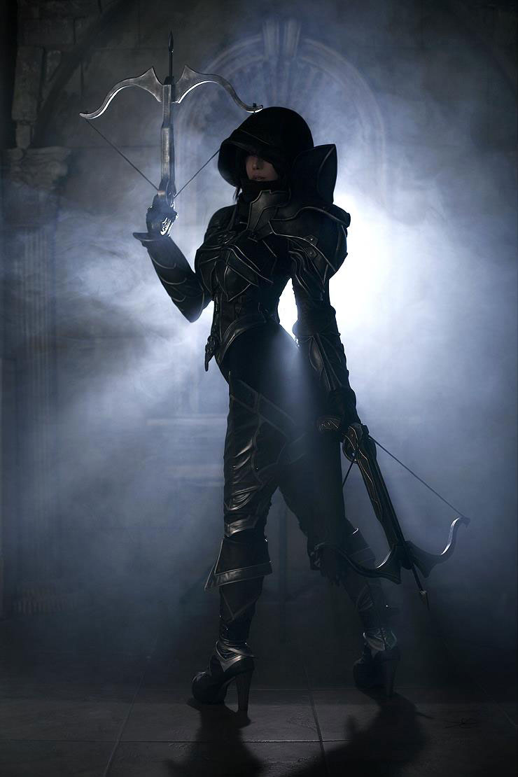 Diablo 3 Demon Hunter Korean cosplay