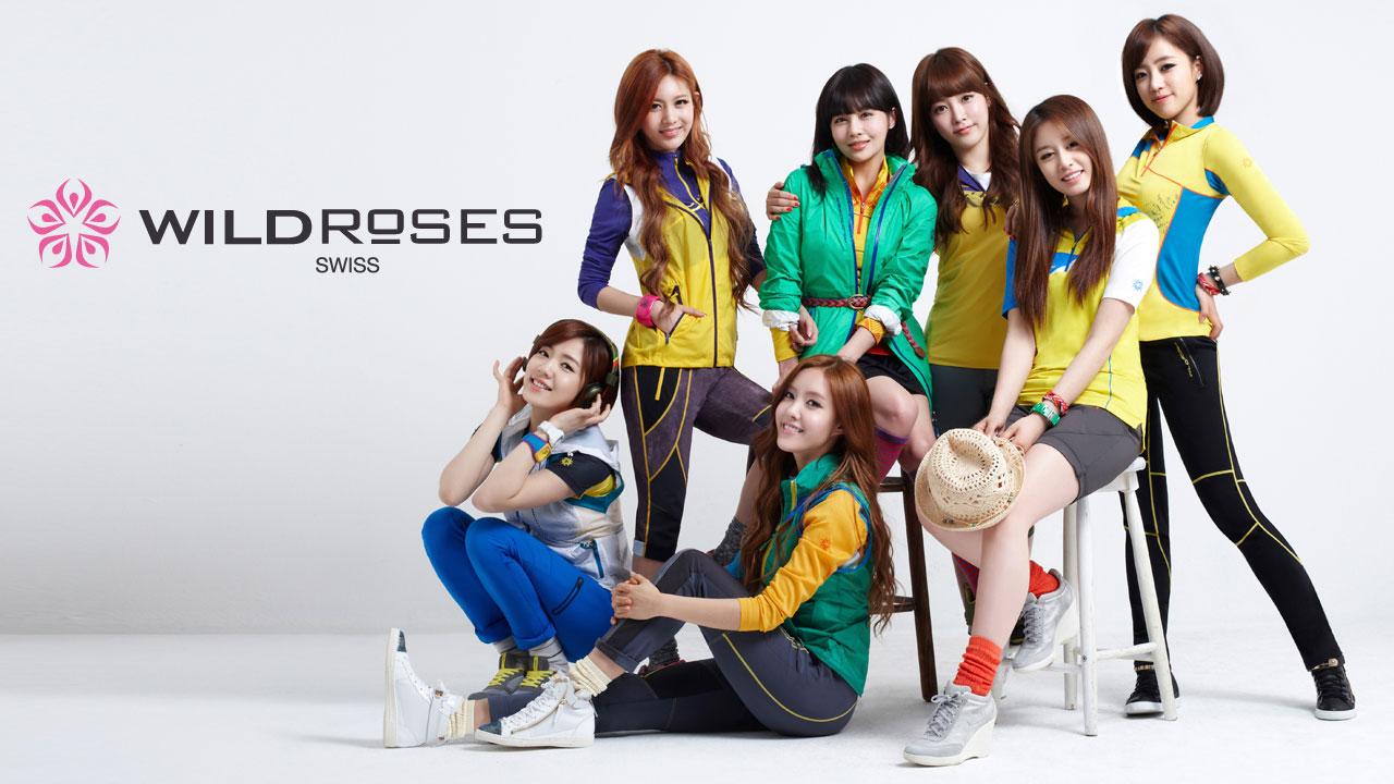 T-ara Korean Wild Roses wallpaper