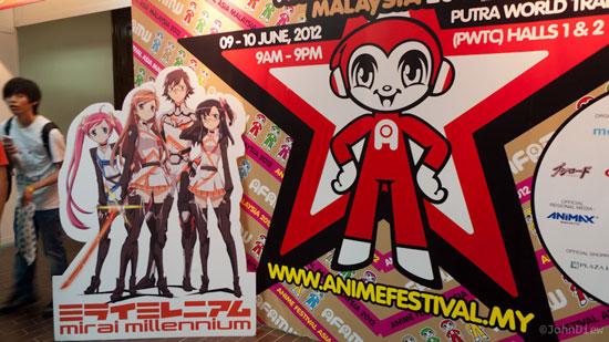 Anime Festival Asia Malaysia 2012
