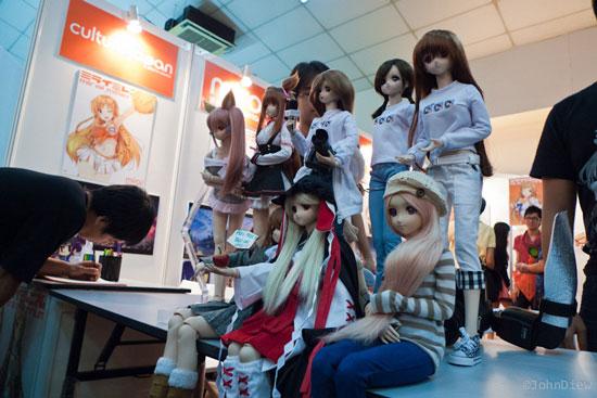 AFA Malaysia 2012 dolls