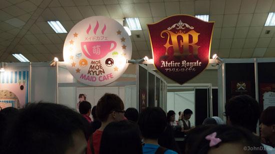 AFA Malaysia 2012 maid cafe