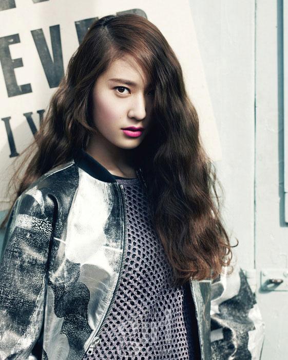 fx Krstyal Korean Vogue Girl Magazine