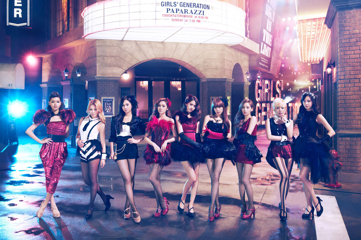 Girls Generation SNSD Paparazzi