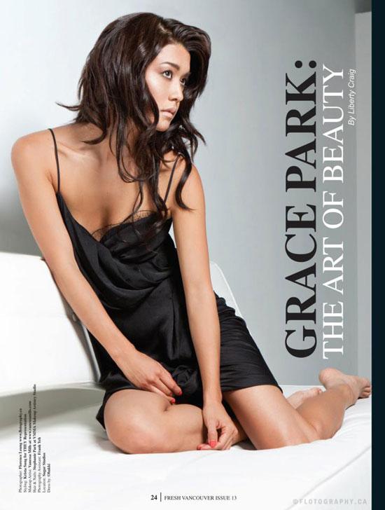Grace Park Fresh Vancouver Magazine