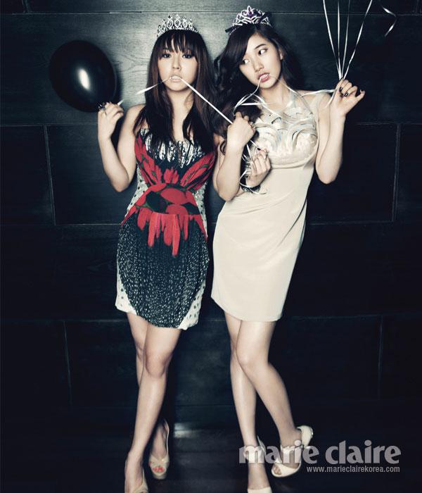 Miss A Min Suzy Marie Claire Korea