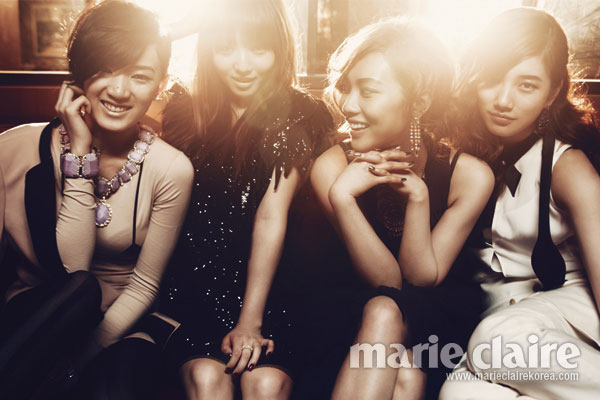 Miss A members Marie Claire Korea