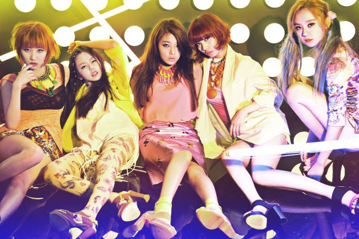 Wonder Girls Like This concept photo