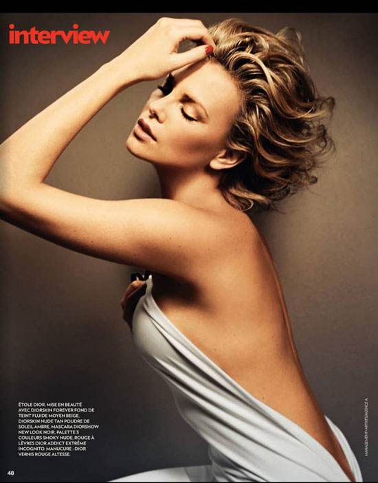 Charlize Theron Marie Claire France
