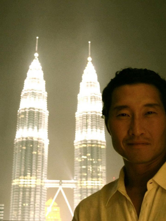 Daniel Dae Kim KL Twin Towers