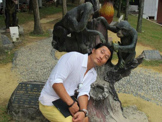 Daniel Dae Kim KL travel