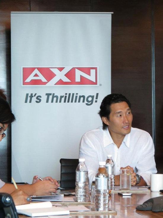 Daniel Dae Kim AXN Asia