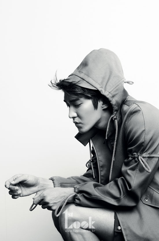 Super Junior Siwon 1st Look Magazine