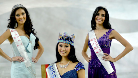 Miss World 2012 winners