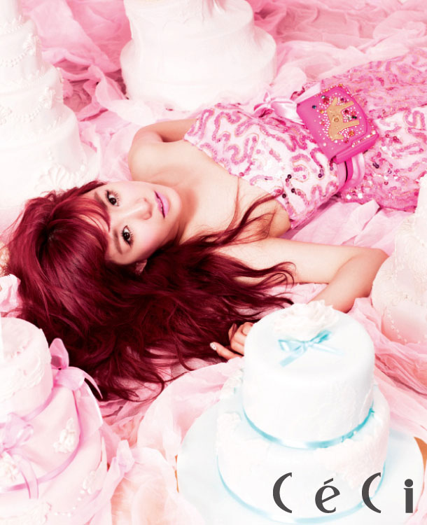 SNSD Tiffany Korean Ceci Magazine