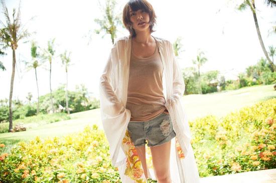 Yui Aragaki Nylon Magazine Bali